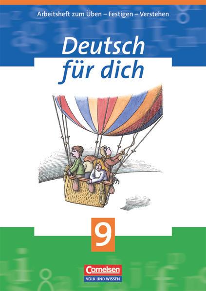 Deutsch für dich / 9. Schuljahr - Arbeitsheft - Coverbild