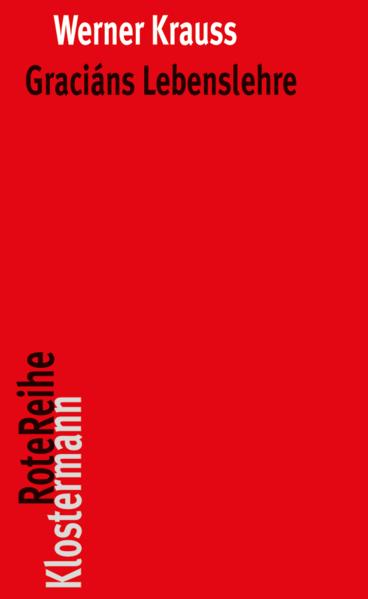 Kostenloses PDF-Buch Graciáns Lebenslehre