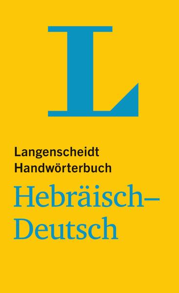 Langenscheidt Handwörterbuch Hebräisch-Deutsch - Coverbild