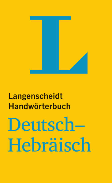 Langenscheidt Handwörterbuch Deutsch-Hebräisch - Coverbild