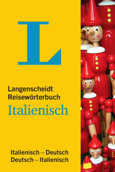 Langenscheidt Reisewörterbuch Italienisch - Coverbild