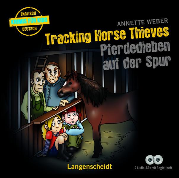 Tracking Horse Thieves - Pferdedieben auf der Spur - Hörbuch (2 Audio-CDs mit Begleitheft) - Coverbild
