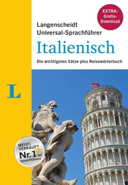 Langenscheidt Universal-Sprachführer Italienisch - Buch inklusive Download - Coverbild