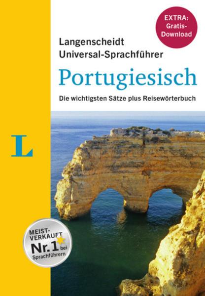 """Langenscheidt Universal-Sprachführer Portugiesisch - Buch inklusive E-Book zum Thema """"Essen & Trinken"""" - Coverbild"""