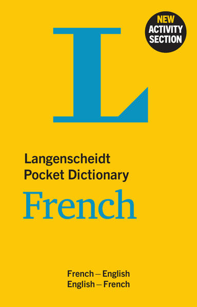 Langenscheidt Pocket Dictionary French - Coverbild
