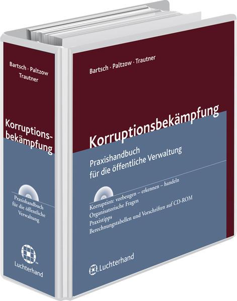 Korruptionsbekämpfung - Coverbild