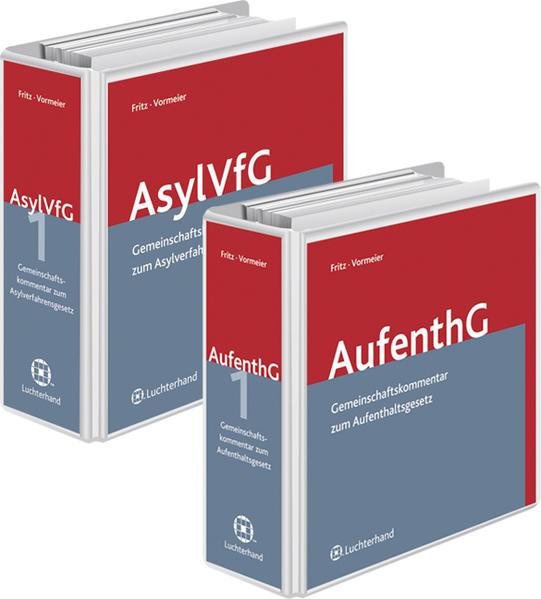 Gemeinschaftskommentar zum Asylverfahrensgesetz  (GK-AsylVFG) und Gemeinschaftskommentar zum Aufenthaltsgesetz (GK-AufenthG) - Coverbild