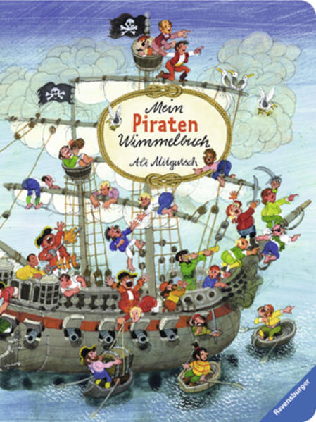Mein Piraten-Wimmelbuch - Coverbild