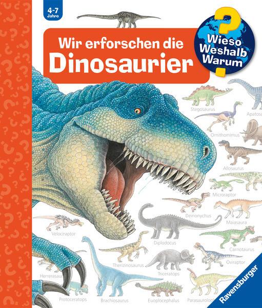 Wir erforschen die Dinosaurier - Coverbild