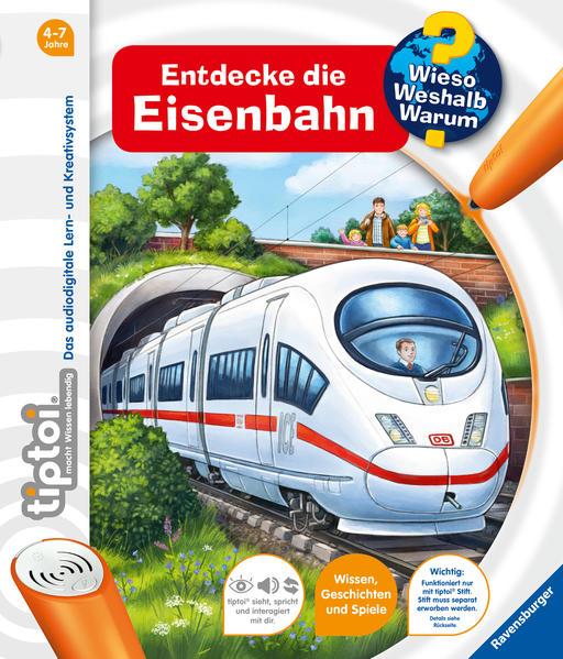 tiptoi® Entdecke die Eisenbahn - Coverbild
