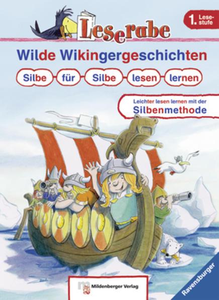 Wilde Wikingergeschichten. Silbe für Silbe lesen lernen - Coverbild