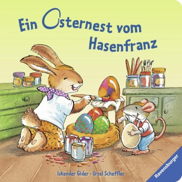 Ein Osternest vom Hasenfranz - Coverbild