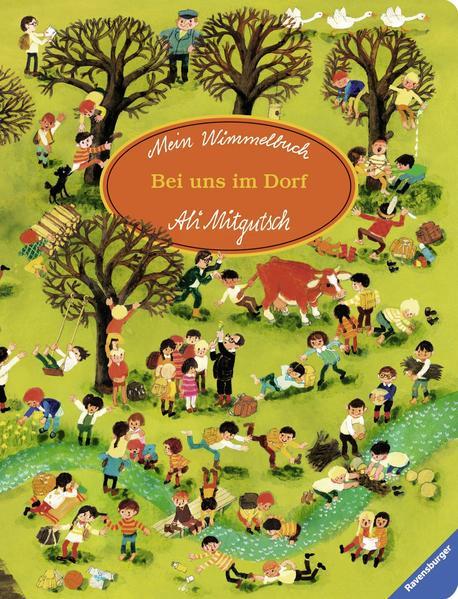 Mein Wimmelbuch: Bei uns im Dorf - Coverbild