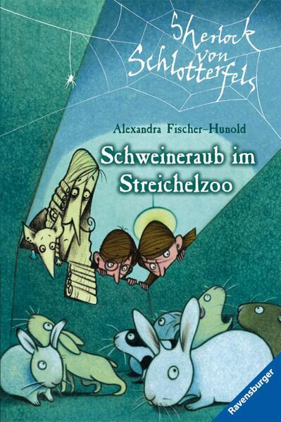 Sherlock von Schlotterfels 4: Schweineraub im Streichelzoo - Coverbild
