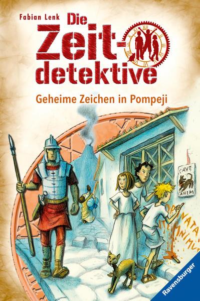 Die Zeitdetektive 27: Geheime Zeichen in Pompeji - Coverbild