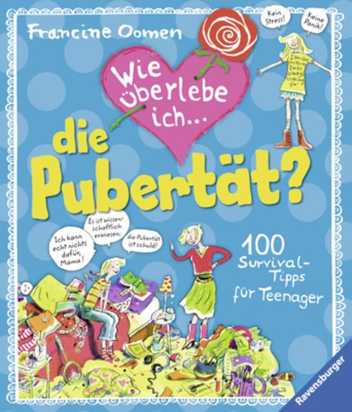 Wie überlebe ich die Pubertät? - Coverbild
