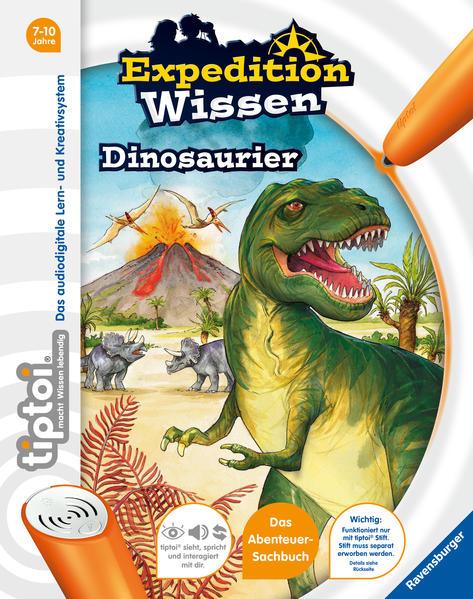 tiptoi® Dinosaurier - Coverbild