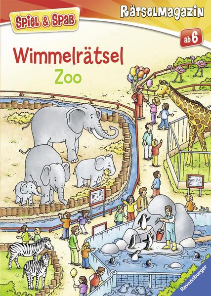 Wimmelrätsel Zoo - Coverbild