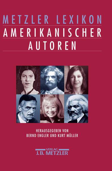 Metzler Lexikon amerikanischer Autoren - Coverbild