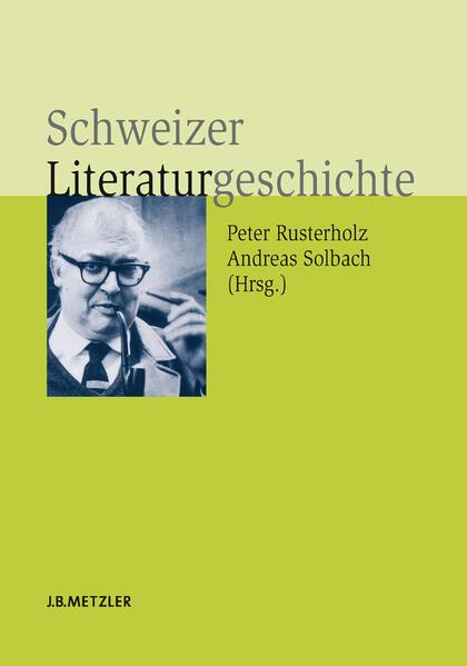 Schweizer Literaturgeschichte - Coverbild