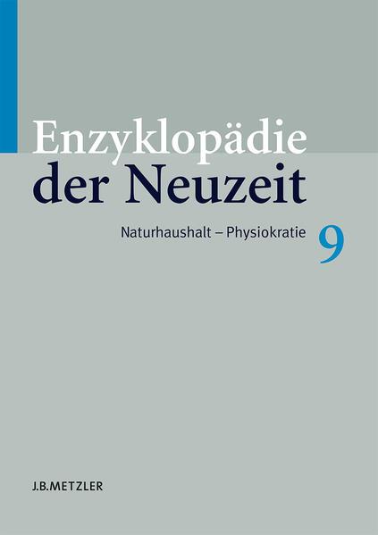 Enzyklopädie der Neuzeit - Coverbild