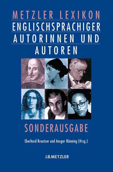 Metzler Lexikon englischsprachiger Autorinnen und Autoren - Coverbild