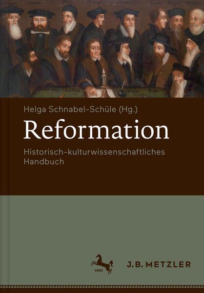 Reformation. Historisch-kulturwissenschaftliches Handbuch - Coverbild