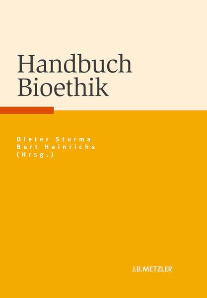 Handbuch Bioethik - Coverbild