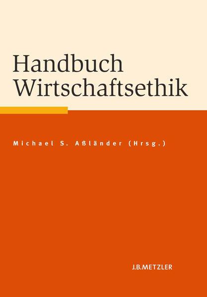 Handbuch Wirtschaftsethik - Coverbild