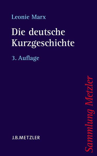 Die deutsche Kurzgeschichte - Coverbild
