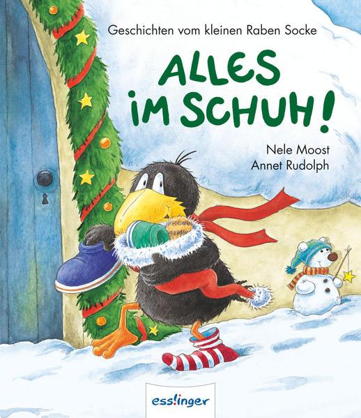 Der kleine Rabe Socke: Alles im Schuh - Medium, Display 10 Ex. - Coverbild