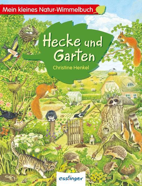 Mein kleines Natur-Wimmelbuch - Hecke und Garten - Coverbild