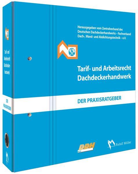 Tarif- und Arbeitsrecht Dachdeckerhandwerk - Coverbild