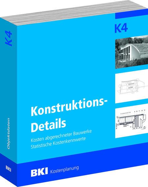 BKI Konstruktionsdetails K 4 - Coverbild