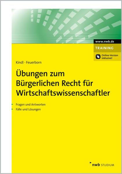 Übungen zum Bürgerlichen Recht für Wirtschaftswissenschaftler - Coverbild