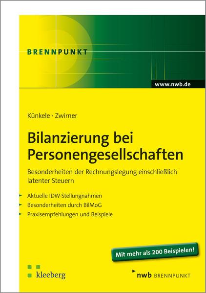 Bilanzierung bei Personengesellschaften - Coverbild