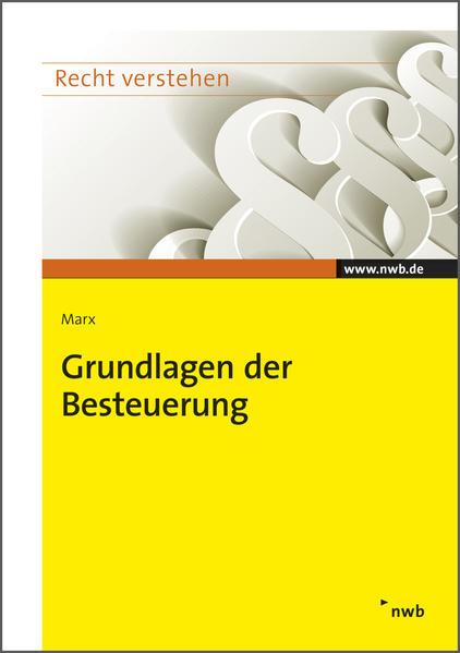 Grundlagen der Besteuerung - Coverbild