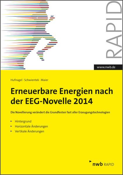 Erneuerbare Energien nach der EEG-Novelle 2014 - Coverbild