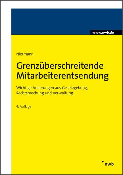 Grenzüberschreitende Mitarbeiterentsendung - Coverbild