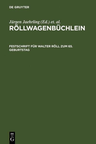 Röllwagenbüchlein - Coverbild