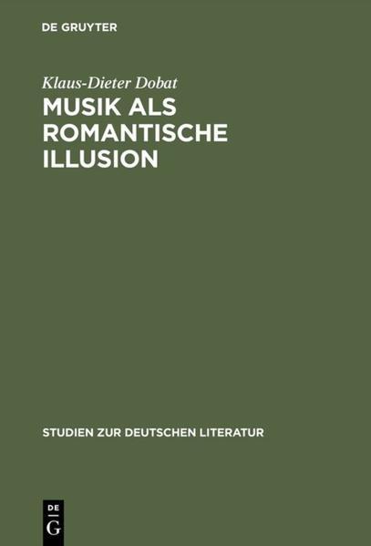 Musik als romantische Illusion - Coverbild