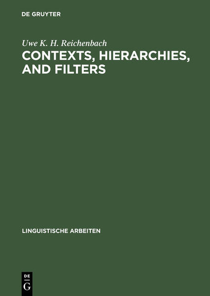 Contexts, hierarchies, and filters - Coverbild