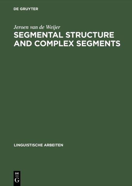 Segmental Structure and Complex Segments - Coverbild