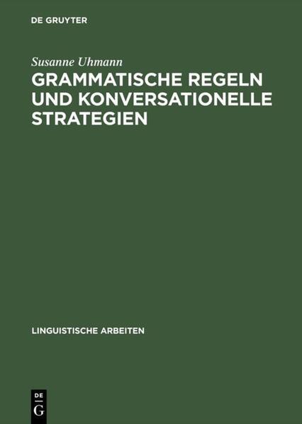 Grammatische Regeln und konversationelle Strategien - Coverbild