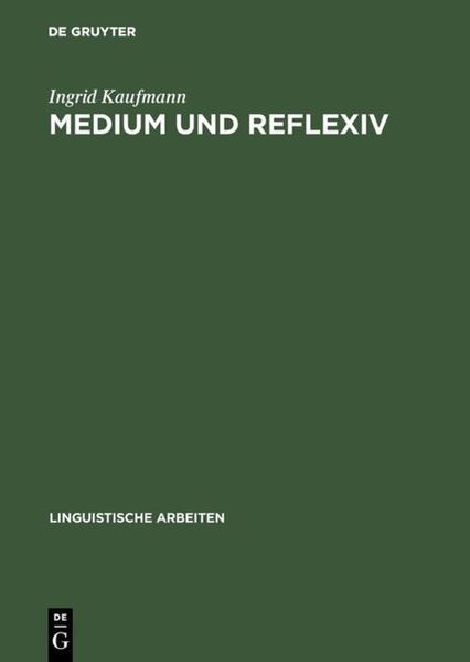 Medium und Reflexiv - Coverbild