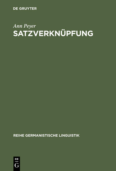 Satzverknüpfung - Coverbild