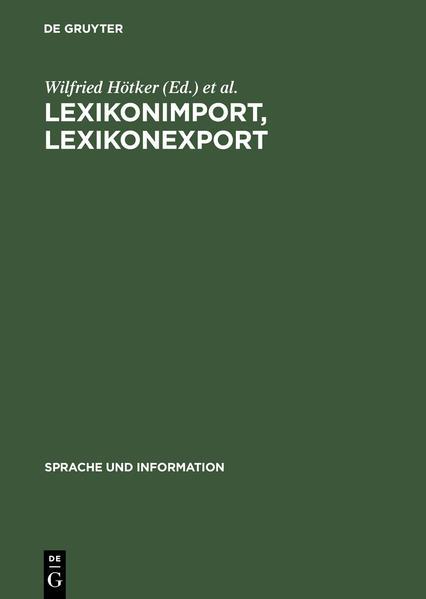 Lexikonimport, Lexikonexport - Coverbild