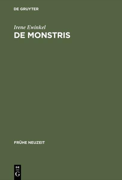De monstris - Coverbild