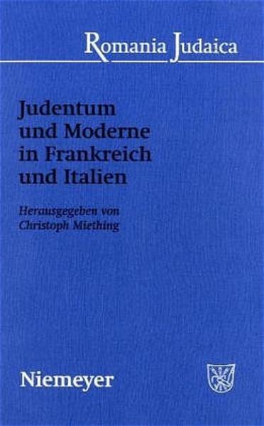Judentum und Moderne in Frankreich und Italien - Coverbild