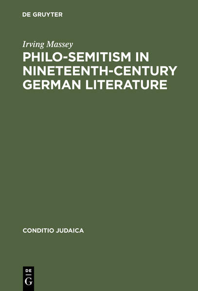 Philo-Semitism in Nineteenth-Century German Literature - Coverbild